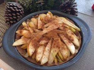 Vegan Raw Pear Pie