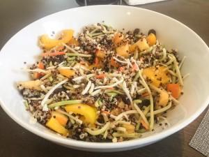 Persimmon Broccoli Quinoa Bowl
